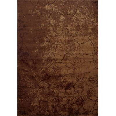 Bellevue Brown Area Rug Rug Size: Rectangle 92 x 126