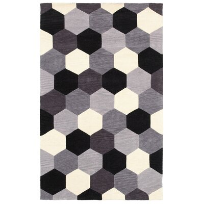 Hand-Tufted Area Rug Rug Size: 3 x 5
