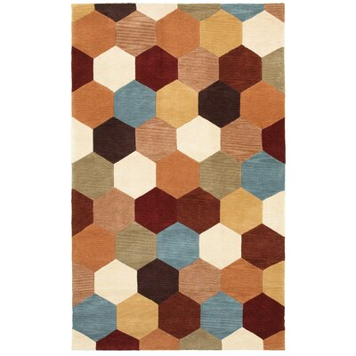 Hand-Tufted Area Rug Rug Size: 8 x 10