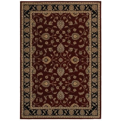 Red Area Rug Rug Size: Rectangle 910 x 126