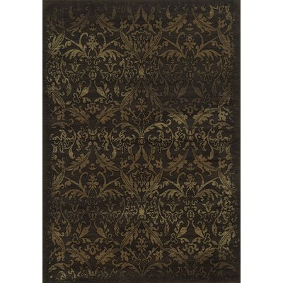 Brown Area Rug Rug Size: 3'3