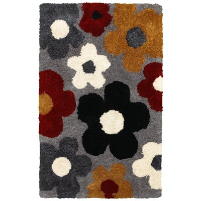 Hand-Tufted Area Rug Rug Size: Rectangle 36 x 56