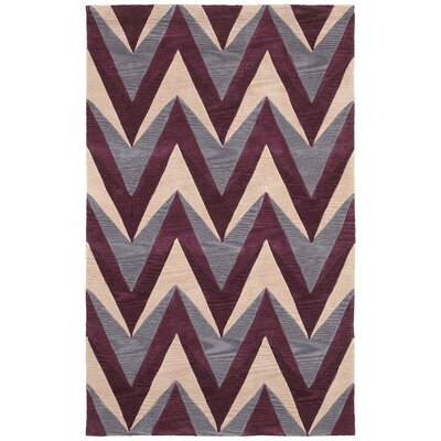 Hand-Tufted Area Rug Rug Size: Rectangle 3 x 5