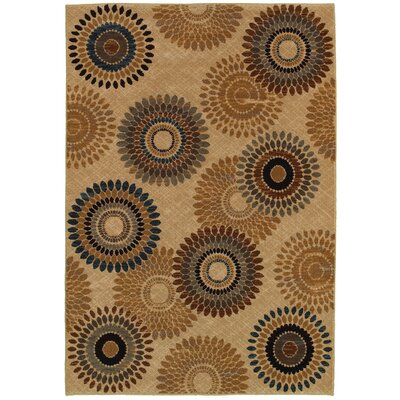 Bellevue Beige Area Rug Rug Size: Rectangle 67 x 96
