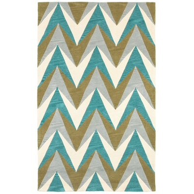 Hand-Tufted Area Rug Rug Size: 2' x 3'