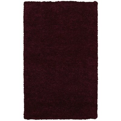 Hand-Tufted Brown Area Rug Rug Size: 36 x 56
