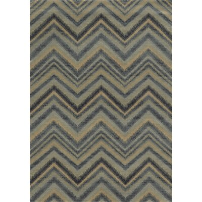 Grey Area Rug Rug Size: Round 710