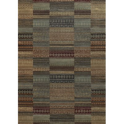 Area Rug Rug Size: Rectangle 33 x 53