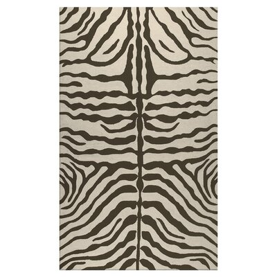 Hand-Woven Brown Outdoor Area Rug Rug Size: Rectangle 5 x 8
