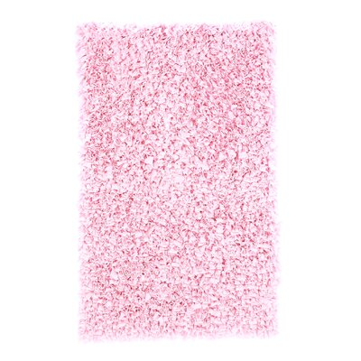Barnett Hand-Woven Pink Area Rug Rug Size: Rectangle 110 x 210
