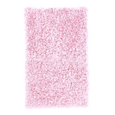 Barnett Hand-Woven Pink Area Rug Rug Size: 1'10