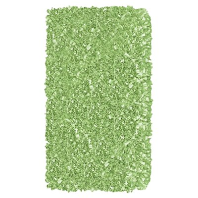 Hand-Woven Sage green Area Rug Rug Size: Rectangle 47 x 77