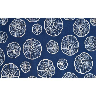 Blue/White Outdoor Area Rug Rug Size: 8 x 10