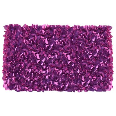 Handmade Plum Area Rug Rug Size: Rectangle 27 x 47
