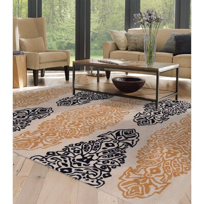Hand-Tufted Angora Area Rug Rug Size: Rectangle 10 x 13