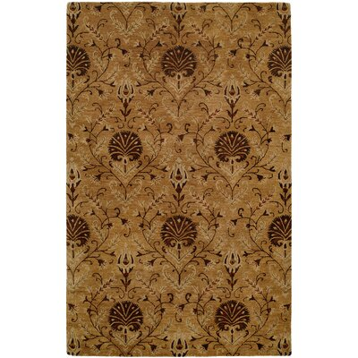 Hand-Tufted Ivory Area Rug Rug Size: 6 x 9