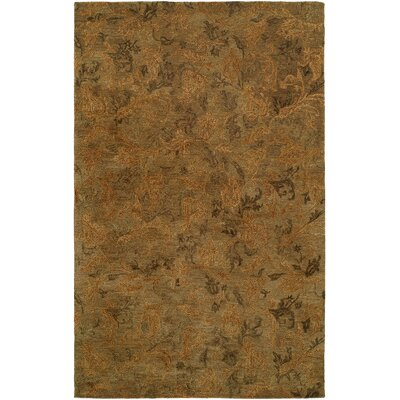 Hand-Tufted Sage Area Rug Rug Size: Runner 26 x 10