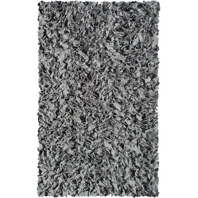 Handmade Grey Area Rug Rug Size: Rectangle 110 x 210