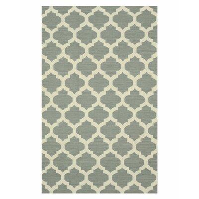 Handmade Gray Area Rug Size: 9 x 12