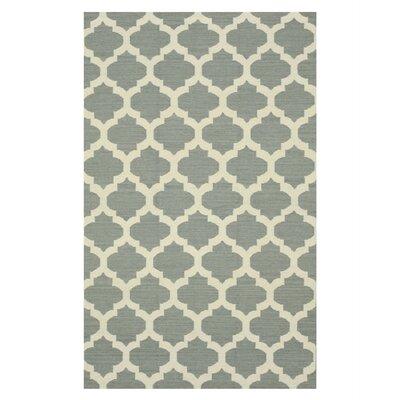 Handmade Gray Area Rug Size: 8 x 10