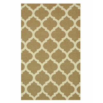 Handmade Brown Area Rug Size: Rectangle 5 x 8