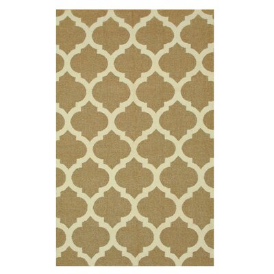 Handmade Brown Area Rug Size: 8 x 10