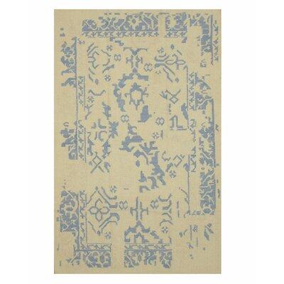 Handmade Ivory Area Rug Size: 10 x 14