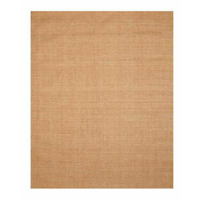 Diamond Hand Tufted Orange Area Rug Rug Size: 79 x 99