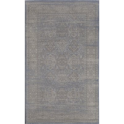 Passion Blue Area Rug Rug Size: 2 x 4