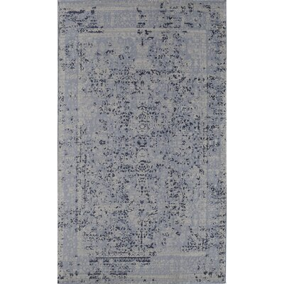 Antique Blue Area Rug Rug Size: 2 x 4