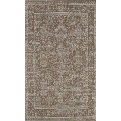 Antique Tan Area Rug Rug Size: 2 x 4