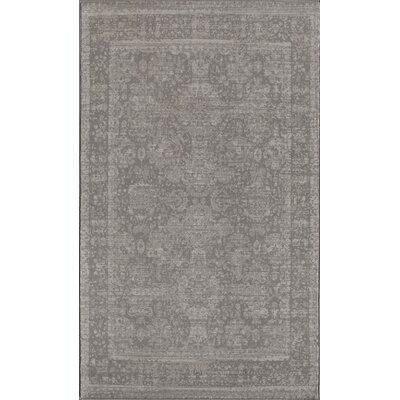 Antique Gray Area Rug Rug Size: 2 x 4