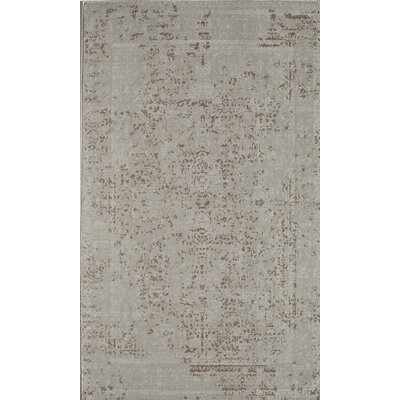 Antique Ivory Area Rug Rug Size: 2 x 4
