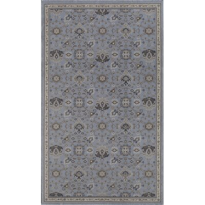 Country Blue Area Rug Rug Size: 4 x 6