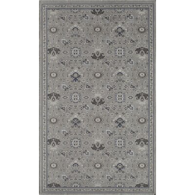 Country Gray Area Rug Rug Size: 2 x 4