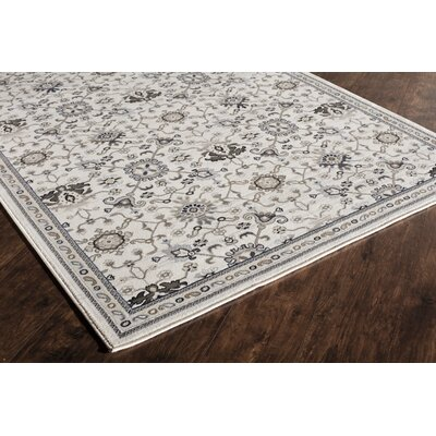 Country Cream Area Rug Rug Size: 4 x 6
