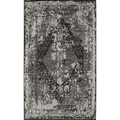 Charcoal Area Rug Rug Size: 5 x 8