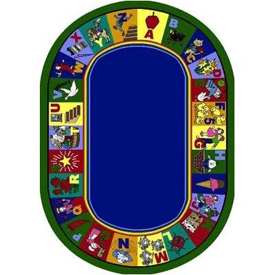 Area Rug Rug Size: Oval 54 x 78