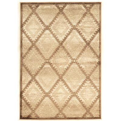 Alkmaar Beige Area Rug Rug Size: Rectangle 5 x 76