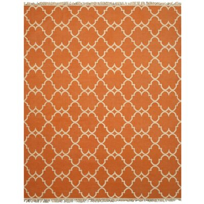 Elliot Handmade Orange Area Rug