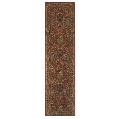Julianne Hand Tufted Rust Area Rug