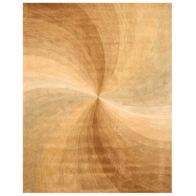 Lucien Hand Tufted Gold Area Rug