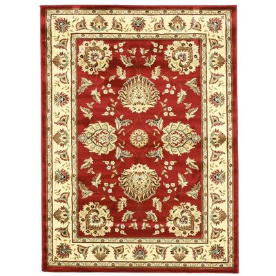 Virginia Red Area Rug