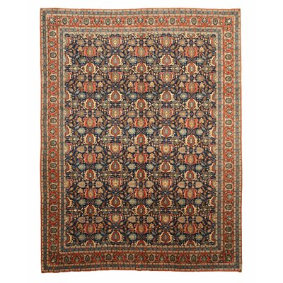 Chester Hand Knotted Navy Area Rug