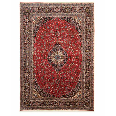 Virginia Hand Knotted Red Area Rug
