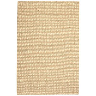 Branchdale Hand-Woven Beige Area Rug Rug Size: 9 x 12