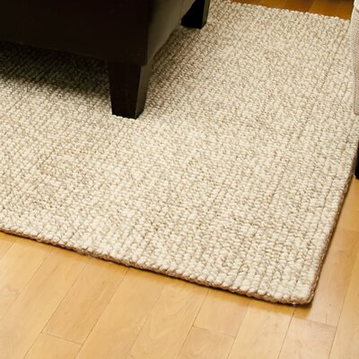 Branchdale Hand-Woven Beige Area Rug Rug Size: Rectangle 5 x 8