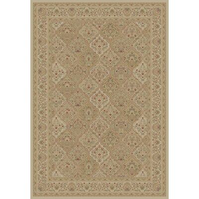 Mantra Ivory Oriental Rectangular Rug Rug Size: Rectangle 53 x 77