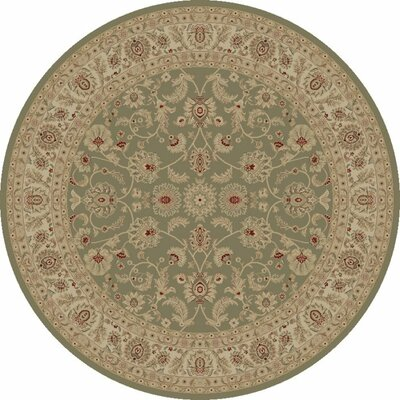 Heather Grey Bergama Area Rug Rug Size: Round 53