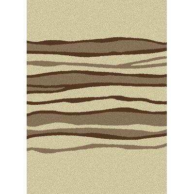 Lara Lines Desert Contemporary Rug Rug Size: 53 x 73